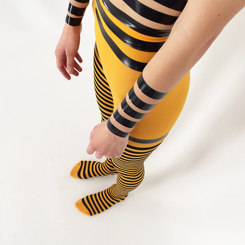 1201-gold-yellow-striped-tights