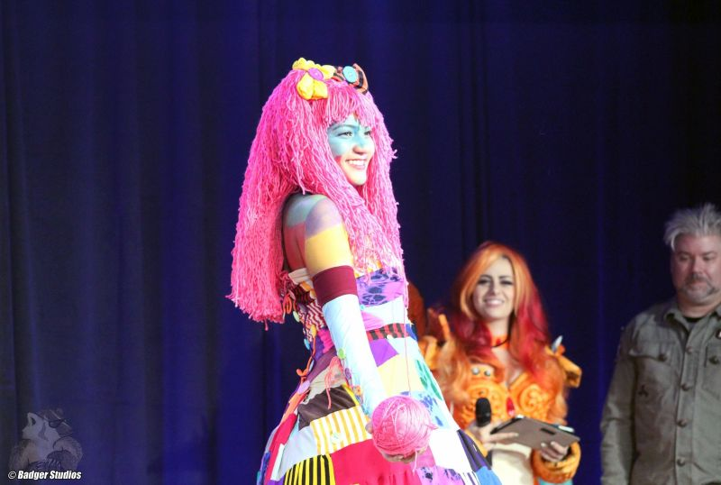 Patchwork Girl Cosplay - We Love Colors (1)
