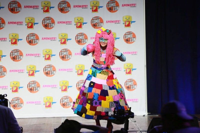 Patchwork Girl Cosplay - We Love Colors (4)