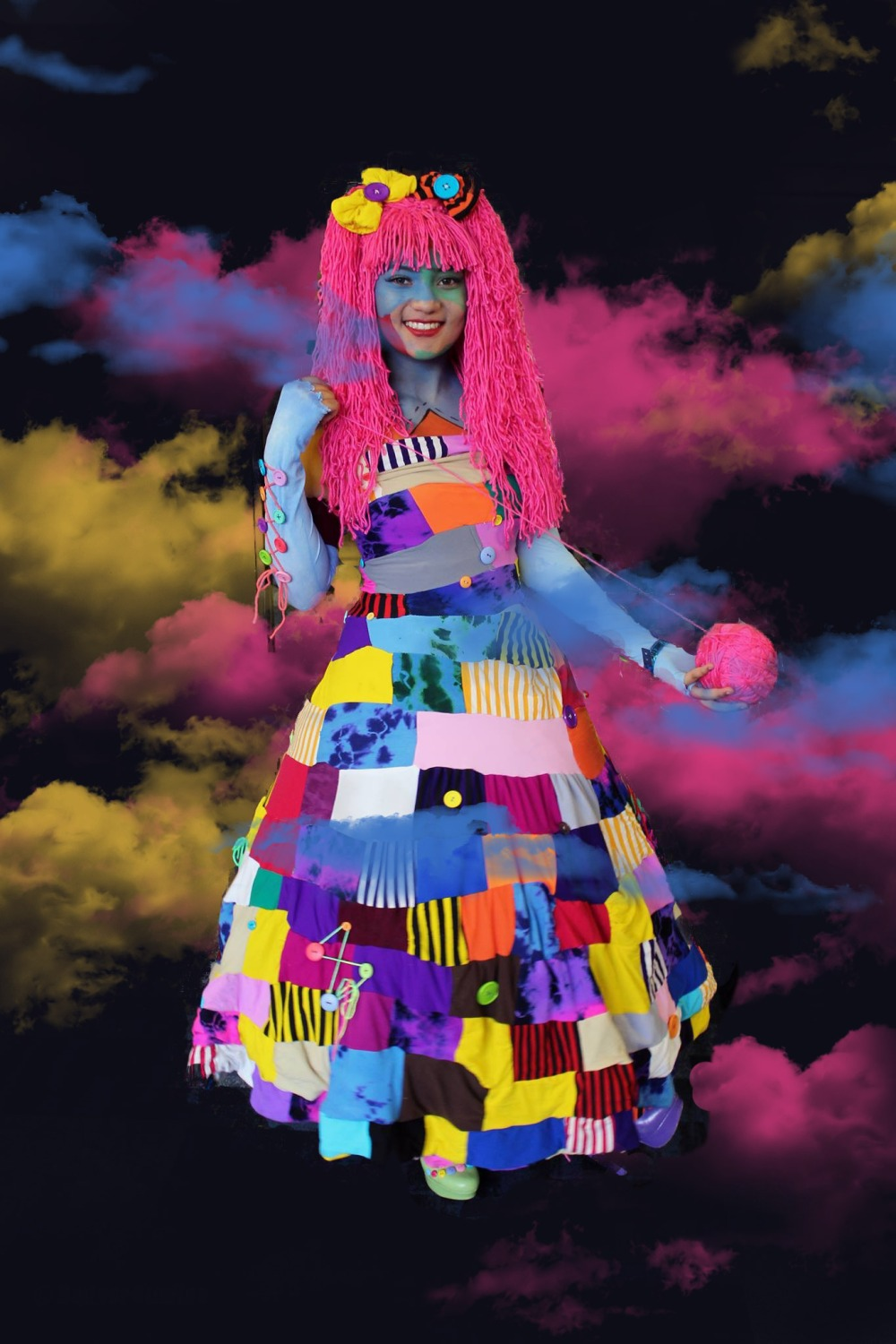 Patchwork Girl Cosplay - We Love Colors